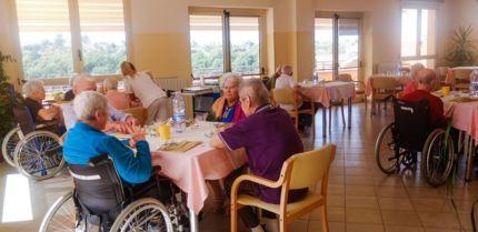 Una struttura della Fondazione Turati di Zagarolo: l'invecchiamento della popolazione determina un cambio di strategia dell'organizzazione sanitaria