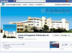 Una nuova pagina facebook per il centro di soggiorno il for Centro di soggiorno il belvedere