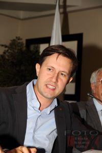 Il sindaco di Firenze Dario Nardella durante le celebrazioni per i 50 anni della Fondazione Turati
