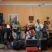 Il gruppo di Musica popolare ERRE 6 che accompagnerà gli ospiti del Centro durante la festa di Carnevale a Zagarolo