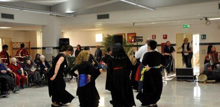 Carnevale alla Turati - Un momento della festa di Zagarolo